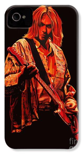 Kurt Cobain Painting IPhone 4 / 4s Case by Paul Meijering