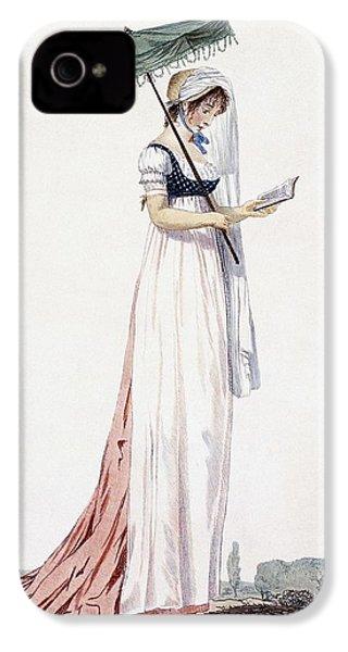 Ladies Elegant Summer Dress IPhone 4 Case by English School