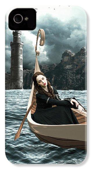 Lady Of Llyn-y-fan Fach IPhone 4 Case by Linda Lees