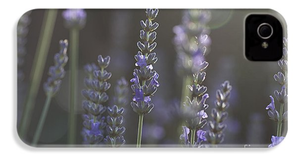 IPhone 4 Case featuring the photograph Lavender Flare. by Clare Bambers