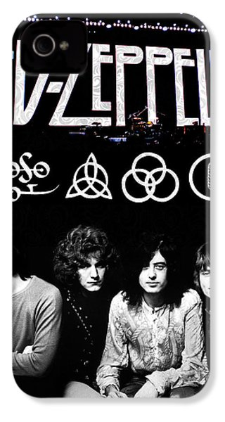Led Zeppelin IPhone 4 Case by FHT Designs