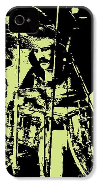 Led Zeppelin No.05 IPhone 4 Case by Caio Caldas