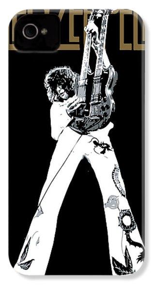 Led Zeppelin No.06 IPhone 4 Case by Caio Caldas