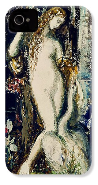 Leda  IPhone 4 / 4s Case by Gustave Moreau