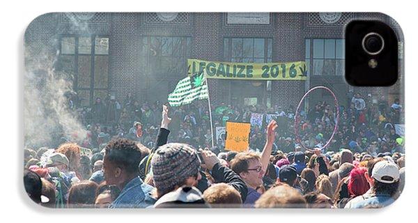 Legalisation Of Marijuana IPhone 4 Case