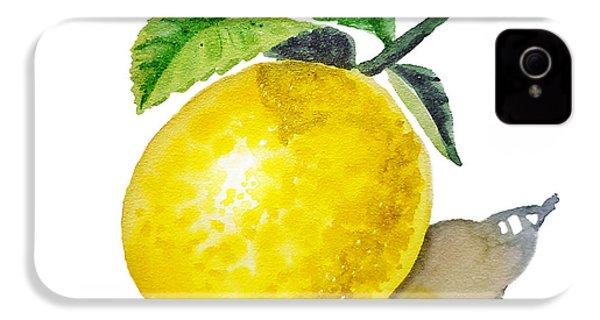 Artz Vitamins The Lemon IPhone 4 Case