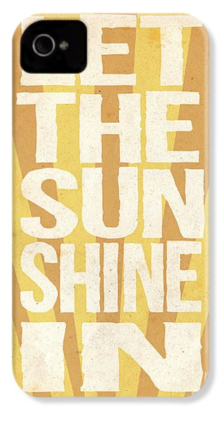 Let The Sunshine In IPhone 4 / 4s Case by Pati Photography