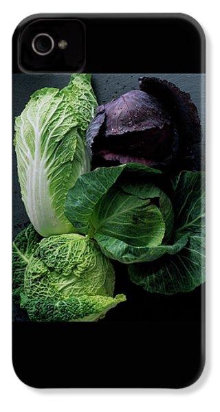 Lettuce IPhone 4 Case by Romulo Yanes