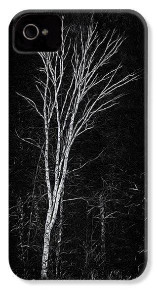 Life's A Birch No.2 IPhone 4 Case by Mark Myhaver