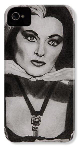 Lily Munster IPhone 4 Case by Brian Broadway
