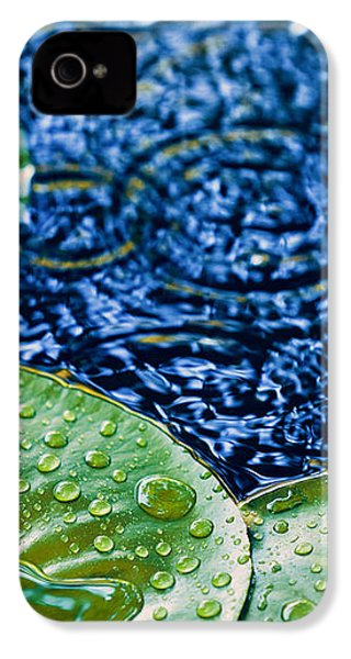 Lily Pads IPhone 4 Case by Debi Bishop