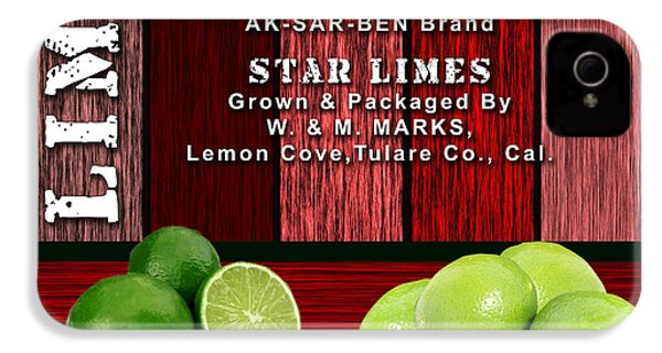 Lime Farm IPhone 4 Case by Marvin Blaine