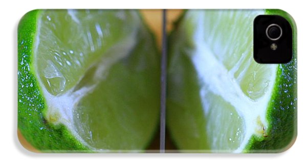 Lime Halves IPhone 4 Case by Dan Sproul