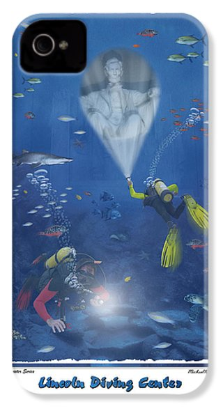Lincoln Diving Center IPhone 4 / 4s Case by Mike McGlothlen
