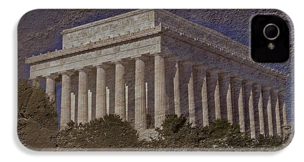 Lincoln Memorial IPhone 4 / 4s Case by Skip Willits