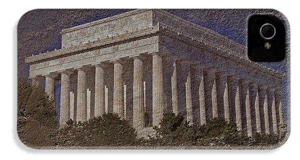 Lincoln Memorial IPhone 4 Case