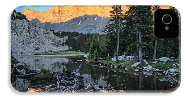 Little Bear Peak And Lake Como IPhone 4 Case by Aaron Spong