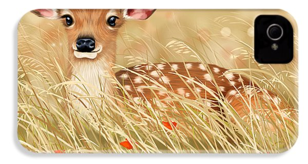Little Fawn IPhone 4 Case by Veronica Minozzi
