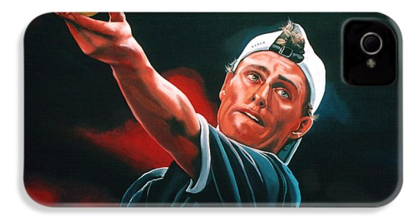 Lleyton Hewitt 2  IPhone 4 / 4s Case by Paul Meijering