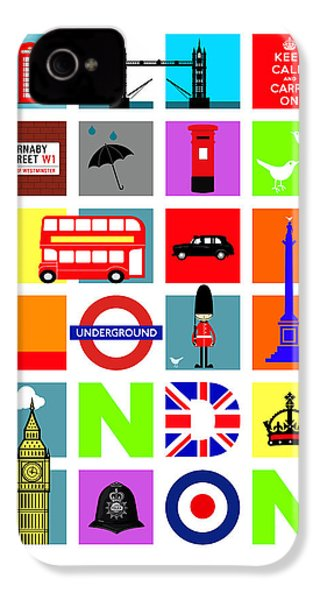 London IPhone 4 Case by Mark Rogan