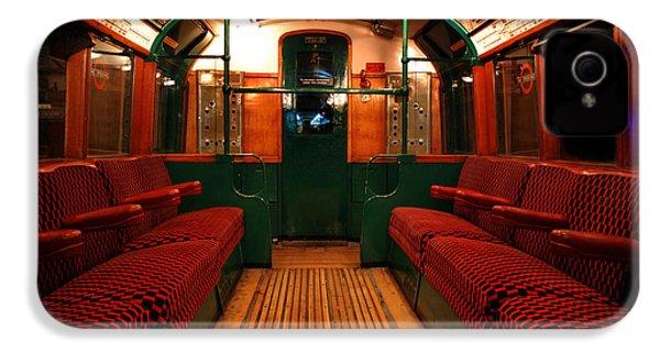 London Undergound Car IPhone 4 Case by Mark Rogan