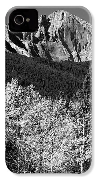 Longs Peak 14256 Ft IPhone 4 Case by James BO  Insogna