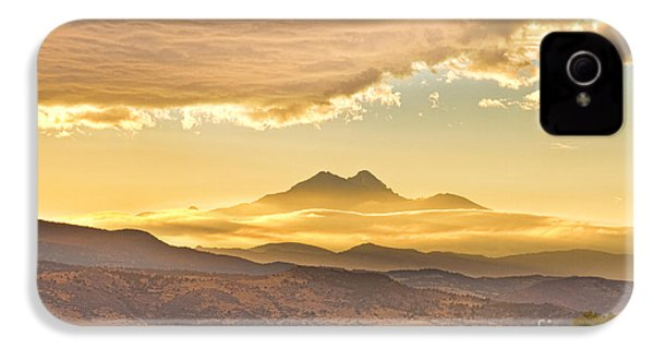 Longs Peak Autumn Sunset IPhone 4 Case by James BO  Insogna