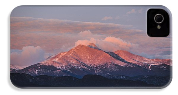Longs Peak Sunrise IPhone 4 Case by Aaron Spong