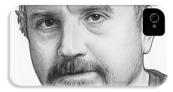Louis Ck Portrait IPhone 4 Case
