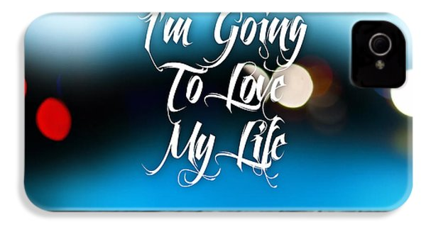 Love My Life IPhone 4 / 4s Case by Marvin Blaine