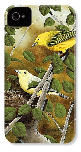 Love Nest IPhone 4 Case by Rick Bainbridge