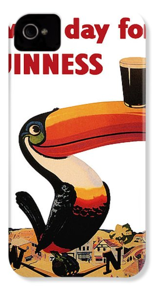 Lovely Day For A Guinness IPhone 4 Case