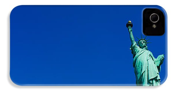 Low Angle View Of Statue Of Liberty IPhone 4 / 4s Case by Panoramic Images