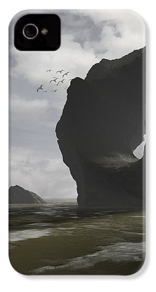 Low Tide IPhone 4 Case by Cynthia Decker