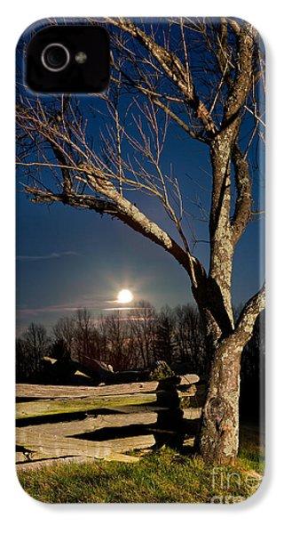 Lunar Landing - Blue Ridge Parkway IPhone 4 / 4s Case by Dan Carmichael