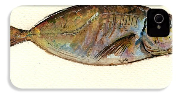 Mackerel Scad IPhone 4 / 4s Case by Juan  Bosco