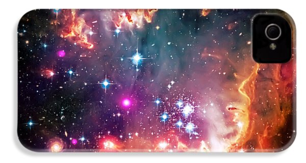 Magellanic Cloud 2 IPhone 4 Case by Jennifer Rondinelli Reilly - Fine Art Photography
