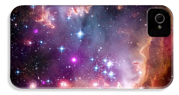 Magellanic Cloud 3 IPhone 4 Case by Jennifer Rondinelli Reilly - Fine Art Photography
