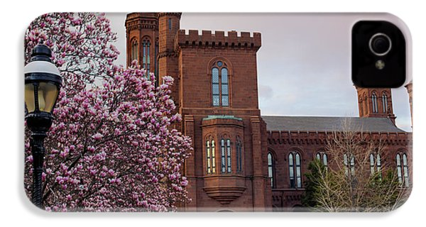 Magnolias Near The Castle IPhone 4 Case by Andrew Pacheco