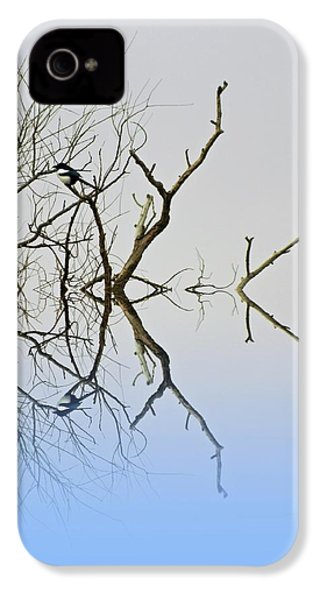Magpie IPhone 4 / 4s Case by Sharon Lisa Clarke