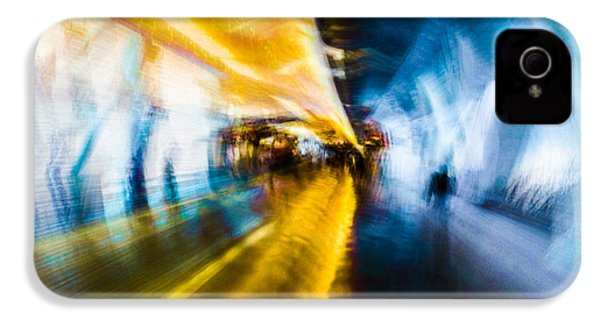 IPhone 4 Case featuring the photograph Main Access Tunnel Nyryx Station by Alex Lapidus