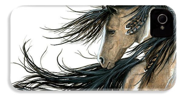 Majestic Horse Series 89 IPhone 4 Case by AmyLyn Bihrle