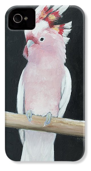Major Mitchell Cockatoo IPhone 4 Case by Jan Matson