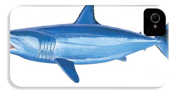 Mako Shark IPhone 4 Case by Carey Chen