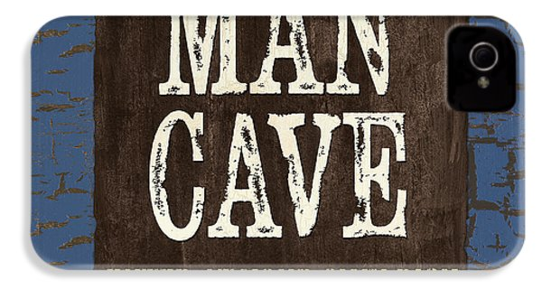 Man Cave Enter At Your Own Risk IPhone 4 Case