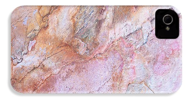 Marble Background IPhone 4 Case by Anna Om