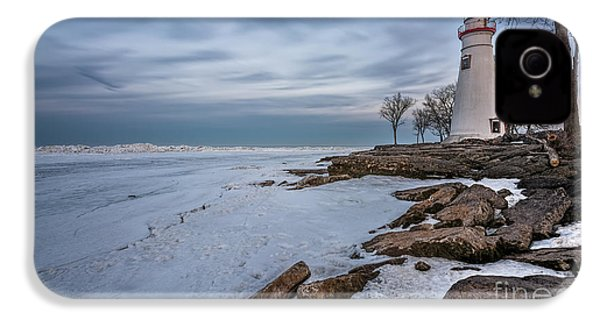 Marblehead Lighthouse  IPhone 4 / 4s Case by James Dean