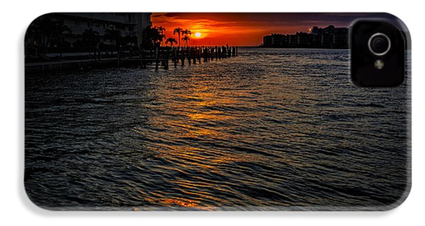 Marco Island Sunset 43 IPhone 4 Case by Mark Myhaver