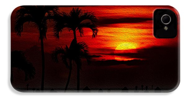 Marco Island Sunset 59 IPhone 4 Case by Mark Myhaver