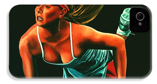 Maria Sharapova  IPhone 4 / 4s Case by Paul Meijering